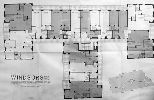 The Windsors Floorplans